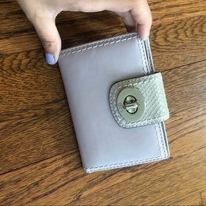 Coach lilac wallet